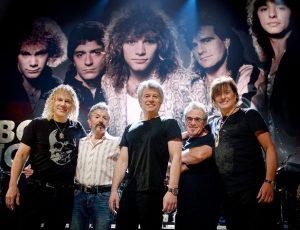 Bon Jovi se reunió con su formación original en su ingreso al Salón de la Fama