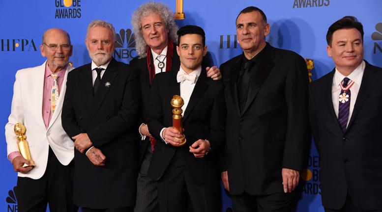 Bohemian Rapsody entre las grandes ganadoras de los Golden Globes