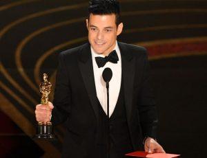 """Mejor actor a Rami Malek por su interpretación en """"Bohemian Rhapsody"""""""