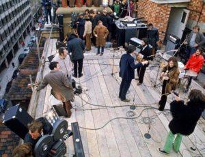 50 años del último concierto de los Beatles en la azotea
