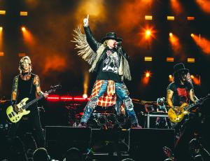 Guns N' Roses lanzará su álbum 'Greatest Hits' en versión vinilo