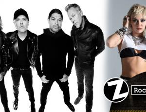 Metallica y Miley Cyrus tocarán juntos en 'The Howard Stern Show'