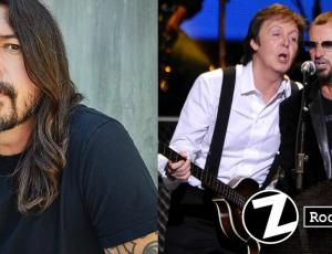 """Dave Grohl da detalles de cómo conoció a Paul McCartney y Ringo Star: """"Fue increíble"""""""