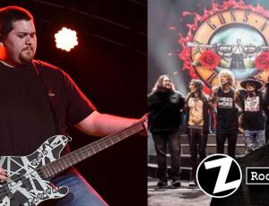 Hijo de Van Halen fue invitado al escenario en concierto de los Guns N' Roses